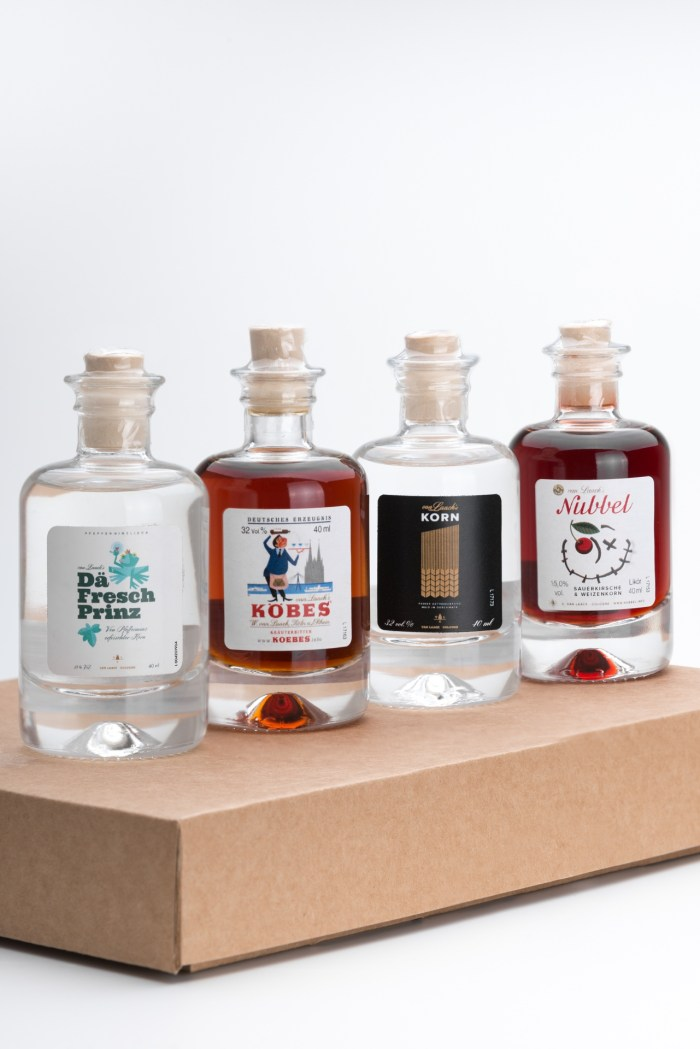 Mini Spirituosen Set als Geschenkbox Produktbild 2
