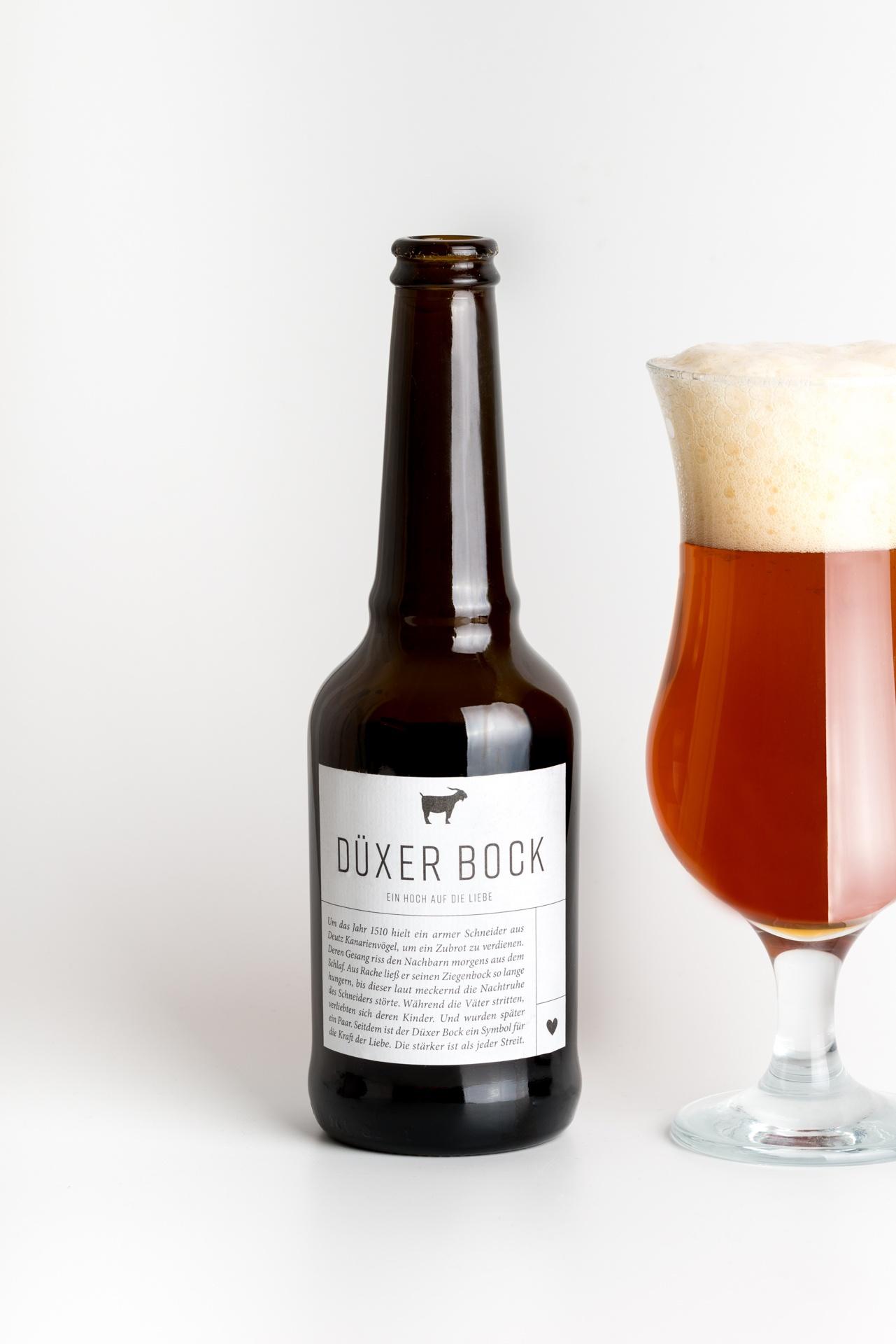 Bockbier Düxer Bock Produktbild 2