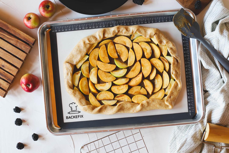 Backmatte Backefix Apfelkuchen