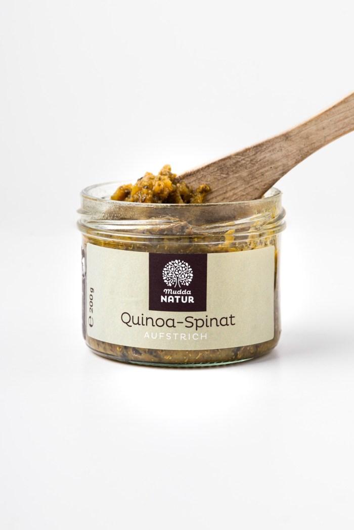 Quinoa-Spinat-Aufstrich Mudda Natur Produktbild 2