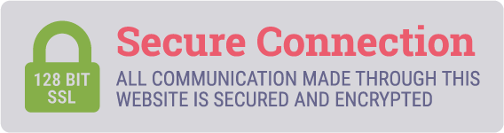 Secure Connection - ALL COMMUNICATION MADE THROUGH THIS