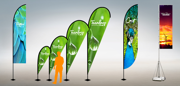 Teardrop Flags & Soft Signage