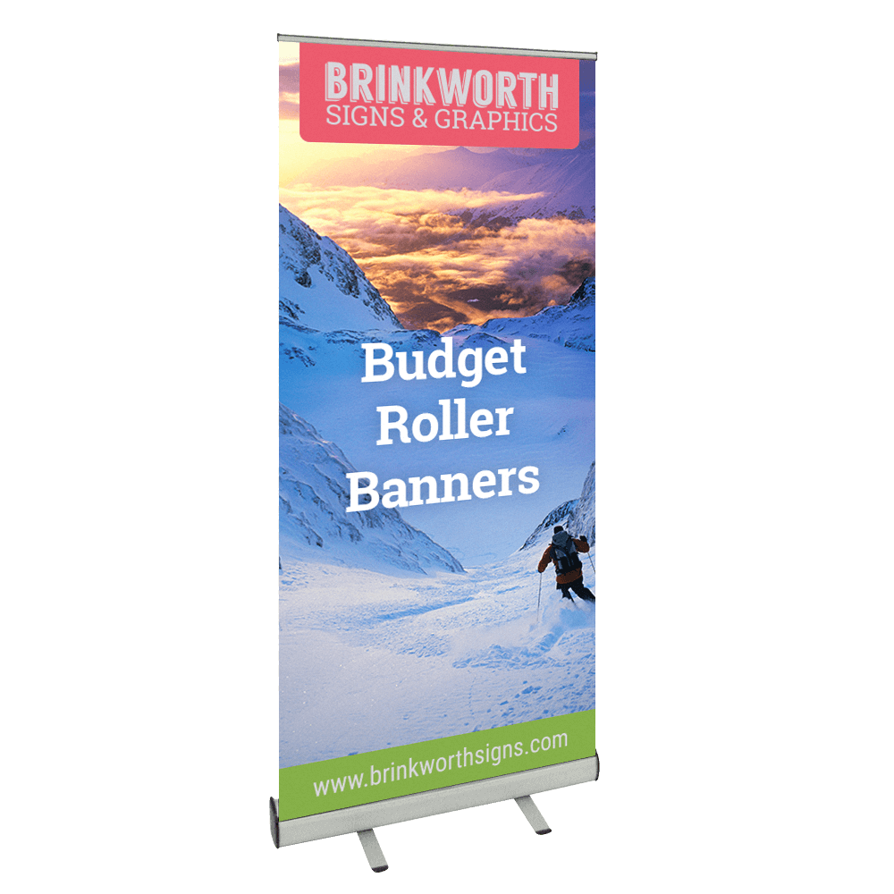 Budget Pull Up Roller Banners