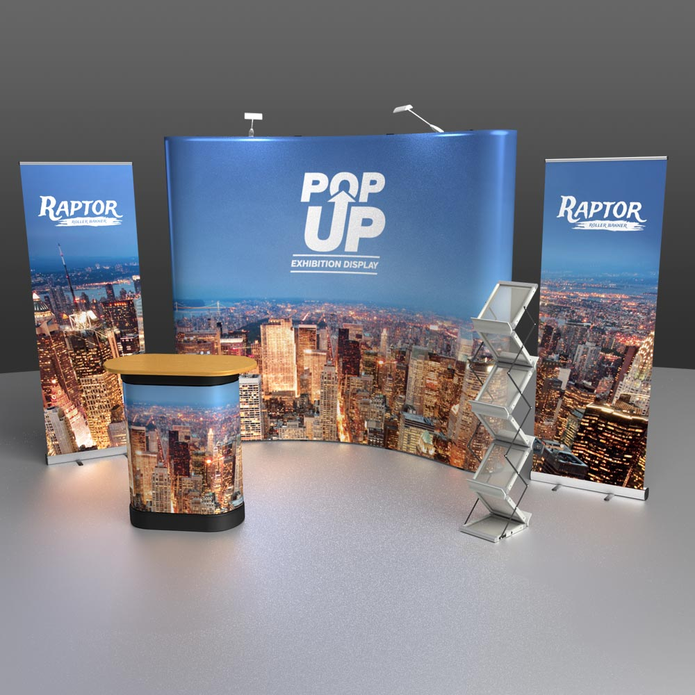 Trade Show Exhibition Display Stand Package