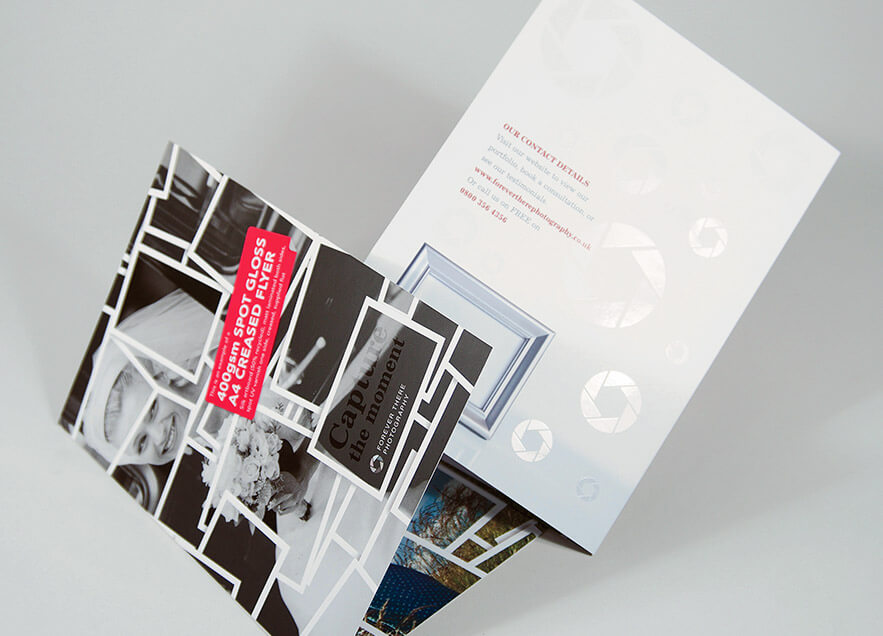 Folded Flyer Printing
