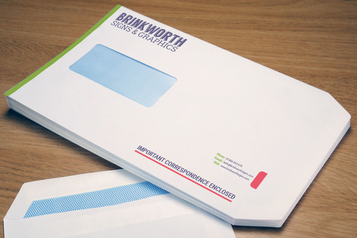 Peal and Seal Personalised Envelope Printing
