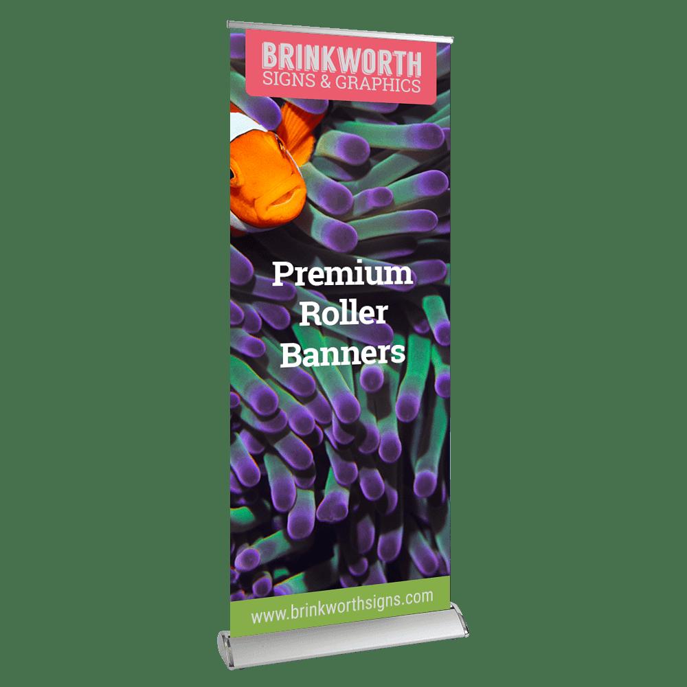 Premium Custom Printed Roller Banners
