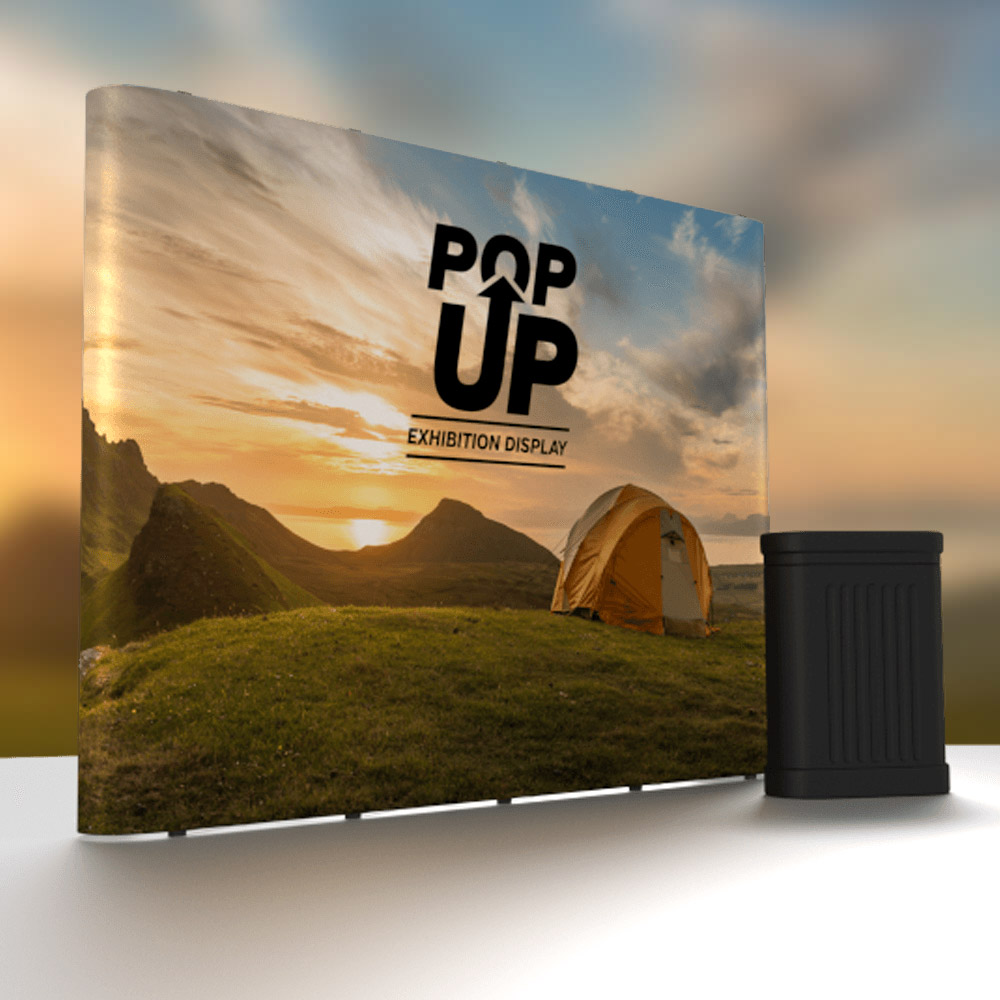 Straight Wall Trade Show Exhibition Display Stand