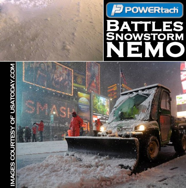 POWERtach Snowstorm Nemo Crop2 - Rough Winter Conditions No Match for Small Indiana Town