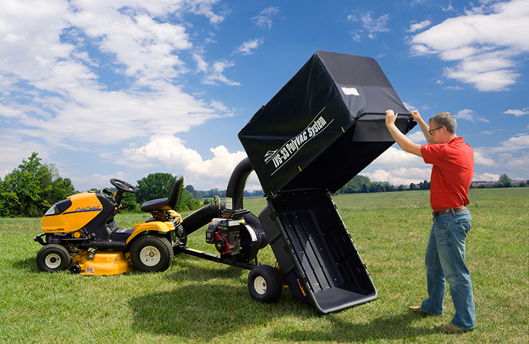 LVS Open CCMower - Make Spring Lawn Prep Painless with a Turf Vacuum