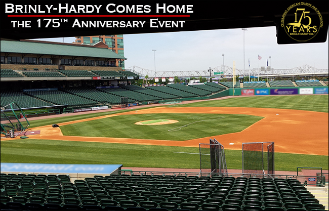 Baseball Field - Brinly-Hardy Comes Home - Louisville Slugger Field