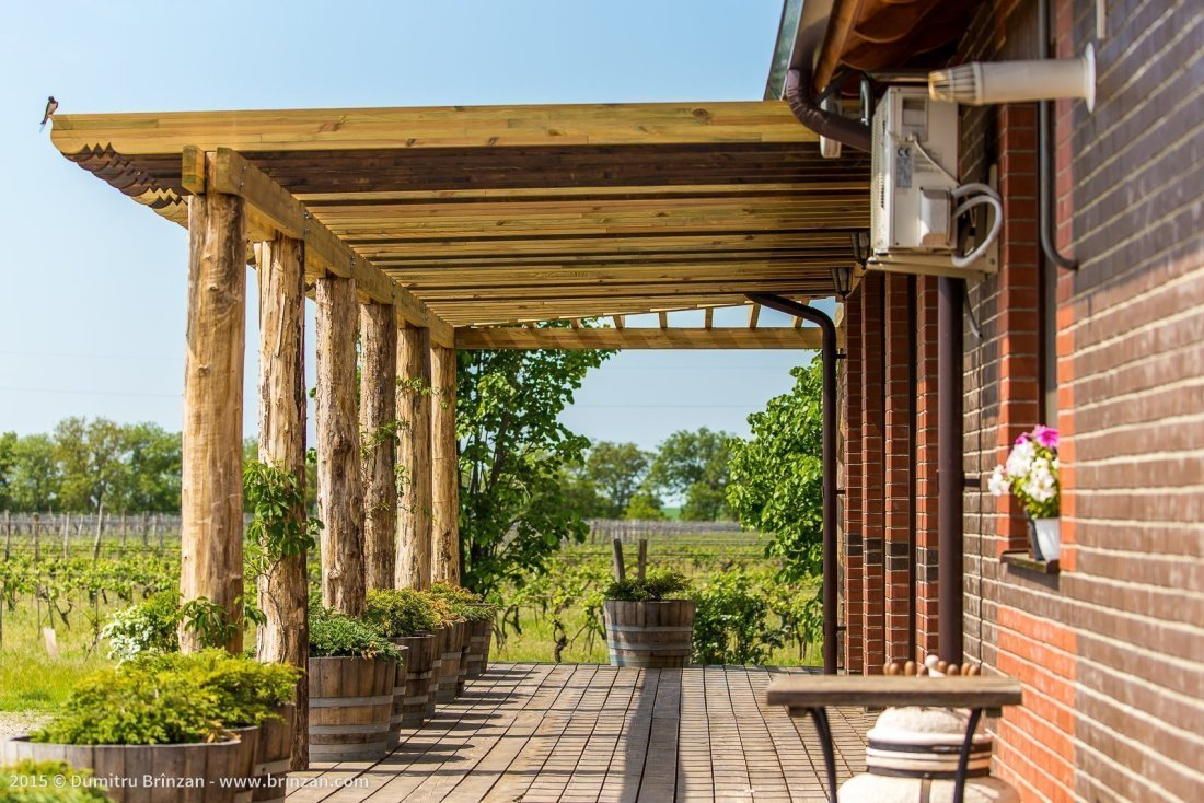 Etcetera Winery - The Restaurant's Terrace