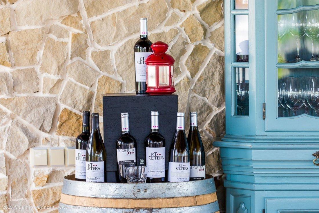 Etcetera Winery - Bottles of Etcetera Wine