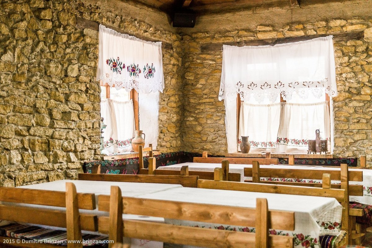Asconi Winery in Puhoi Village, Moldova - Restaurant