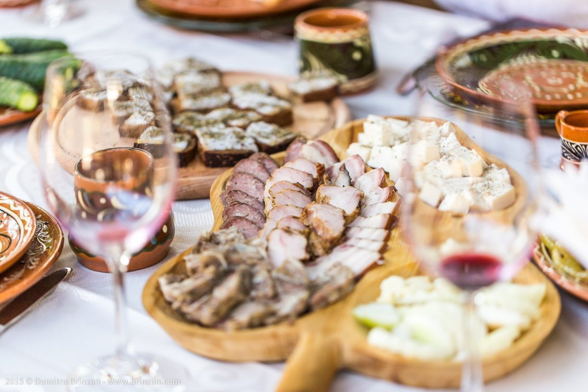 Asconi Winery in Puhoi Village, Moldova - Smoked Meat