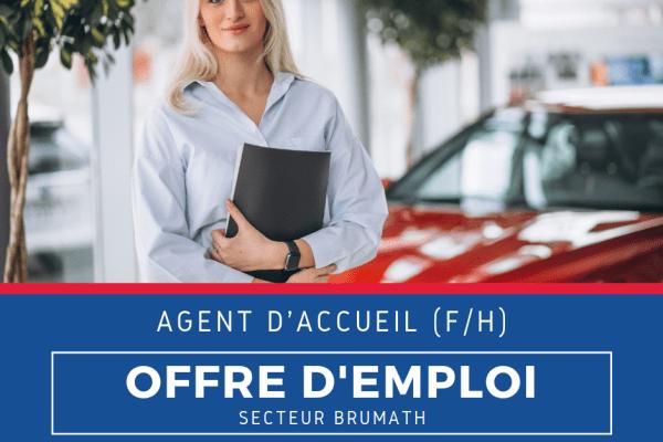 OFFRE D'EMPLOI - Agent d'accueil (F/H)