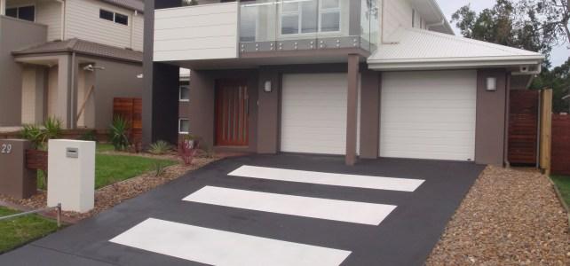spraycrete custome design driveway