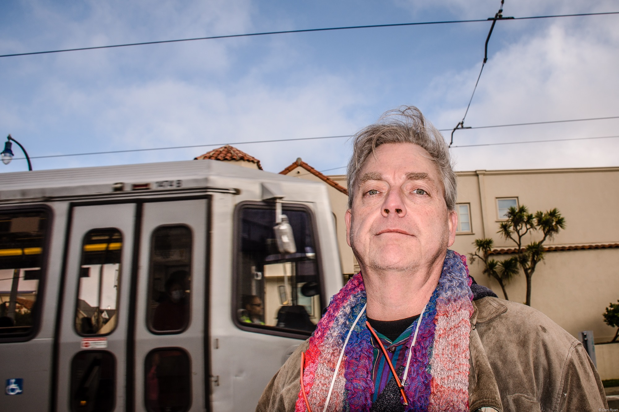 Dan Ryan, Ocean Avenue, San Francisco, January 2018