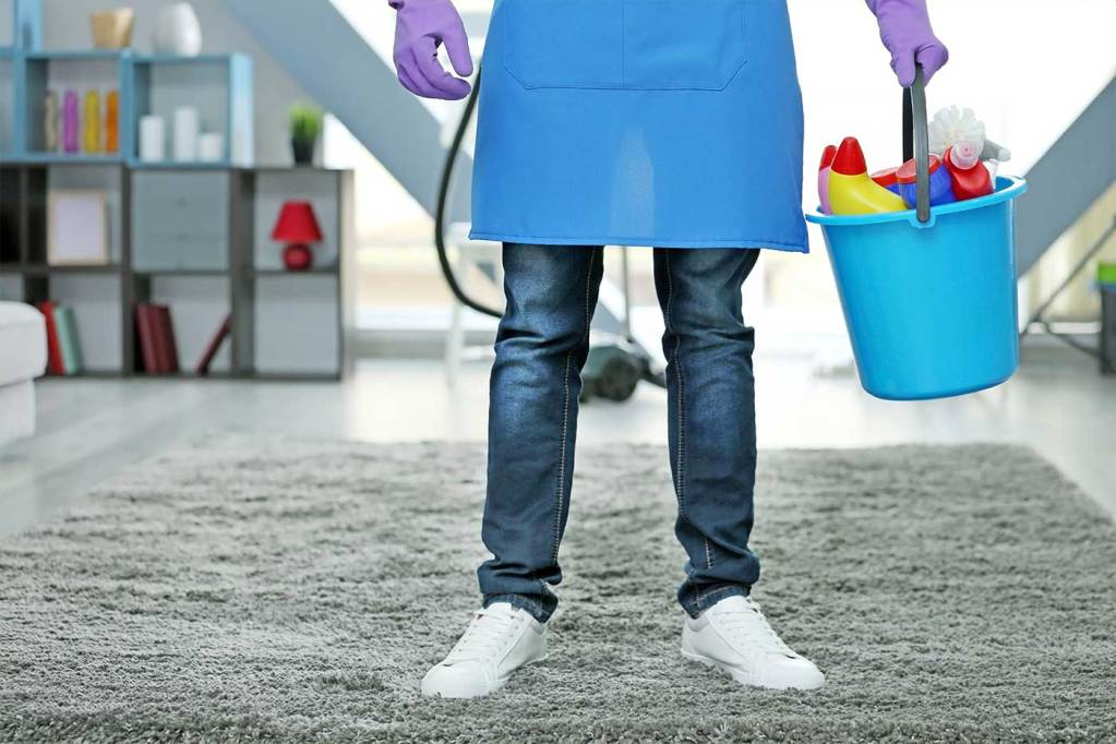 Hire a professional cleaner