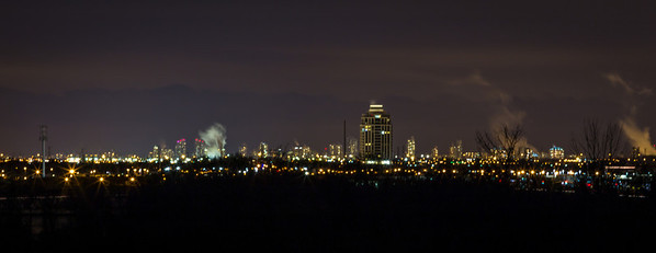 Markham Skyline at Night