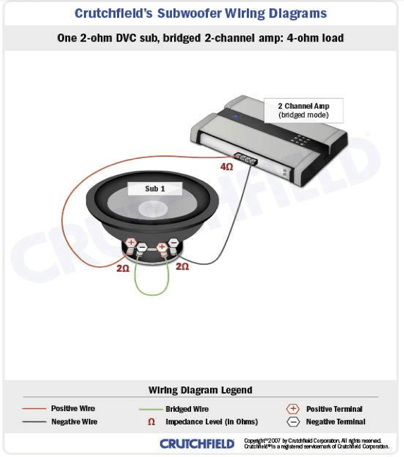 wiring diagram for to 2 4 ohm dvc subs  90 340 relay wiring