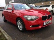 Services - Valeted, BMW 1Series by Bristol Mobile Valeting
