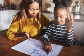 home school parent child maths