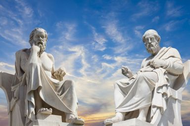 greek philosophers statues