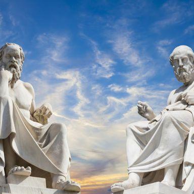 greek philosophers statues