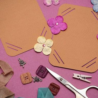 paper, card, scissors