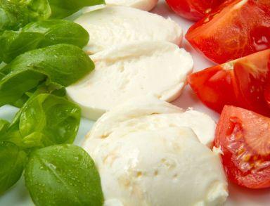 italian basil cheese tomato