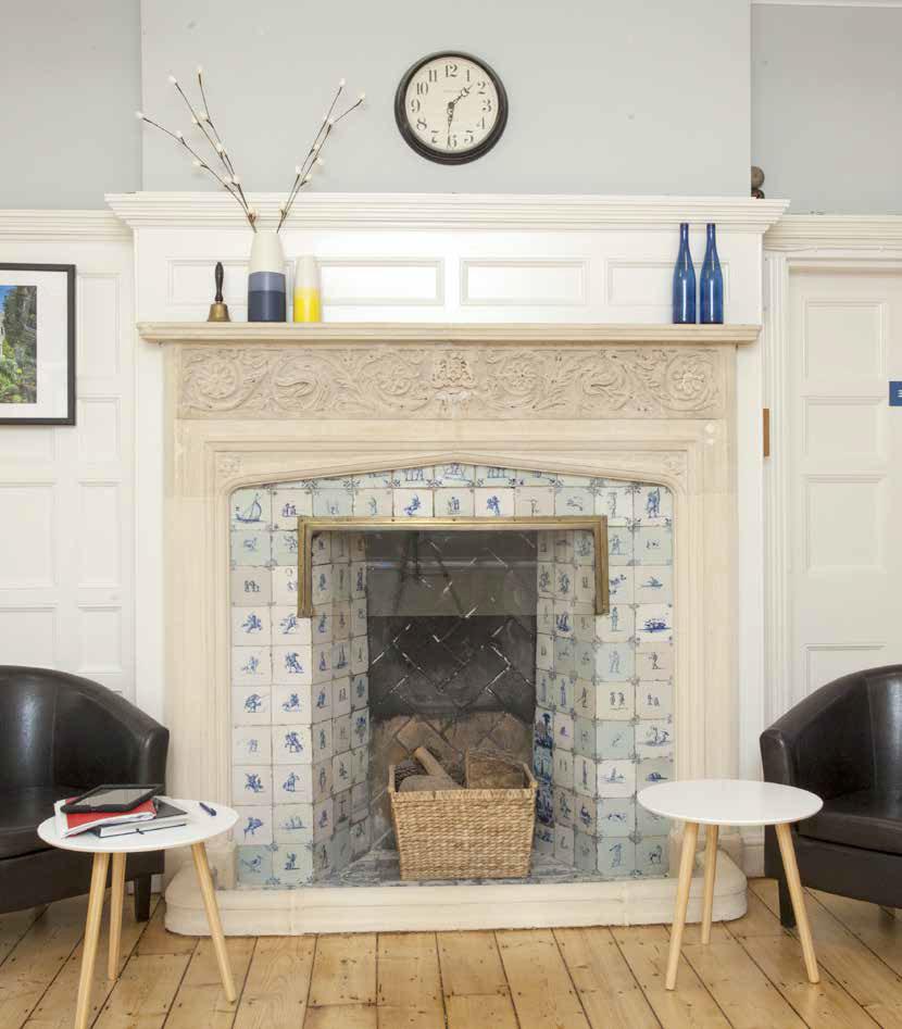Stoke Lodge Venue Hire FirePlace