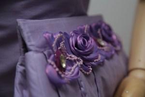 Bag making purple