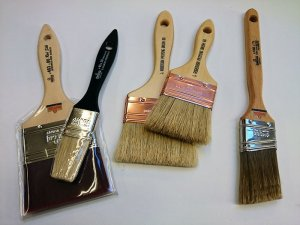 Priming and Varnishing Brushes