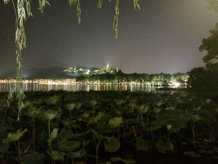 Definitely visit the West Lake at night, its gorgeous.