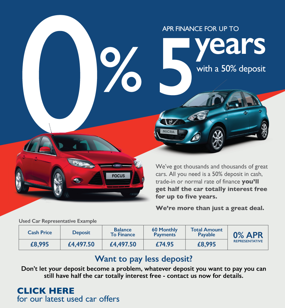 how to get a 0 interest car loan