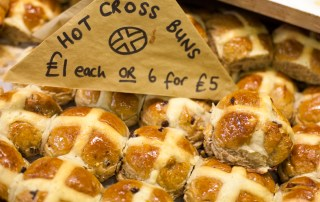 Hart's hot cross buns