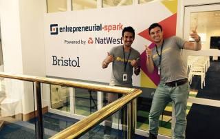 Saf Nazeer and Simon Hills, helpfulpeeps founders