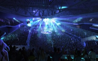 Bristol Arena Internal Rock Concert - Populous