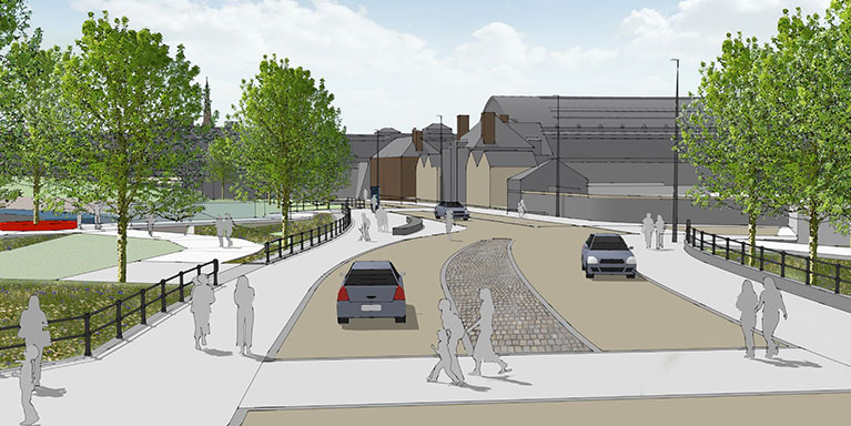 How Cattle Market Road could look
