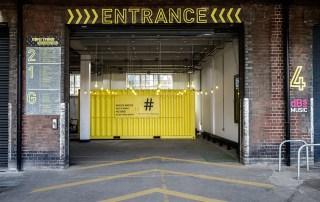 Temple Studios entrance