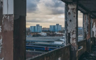 View from Old Sorting Office