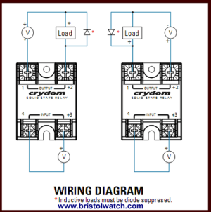 Solid State Contactor Wire Diagram  Wiring Diagram