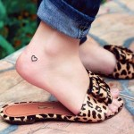 41 Tiny Ankle Tattoos With Big Meanings Brit Co