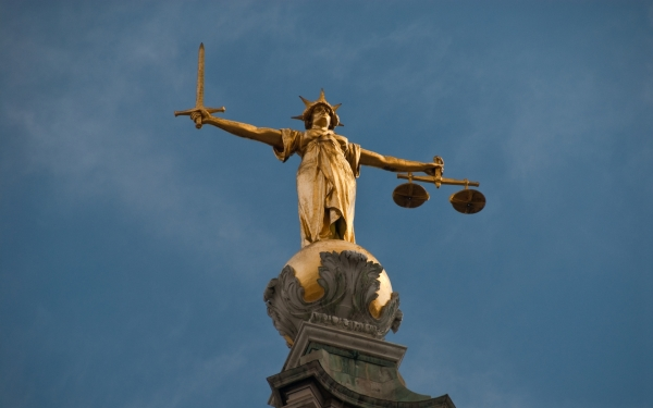 Old Bailey, London (Lady Justice)