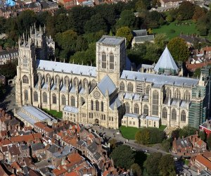 canterbury cathedral from the air