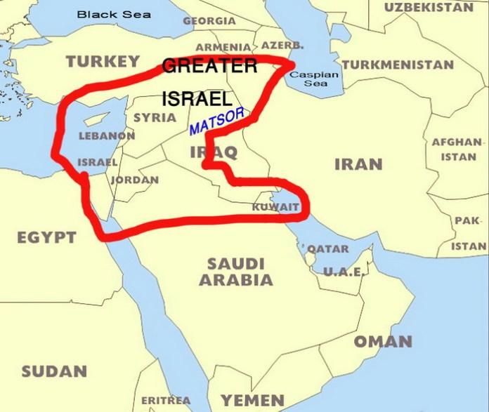 Image result for map of israel's biblical land