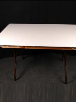"Trestle Table 4' x 2' 6"" ( Seats 4 )"
