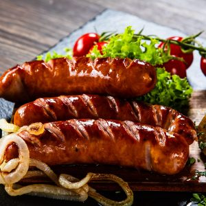 Garlic Basil- Sausage.