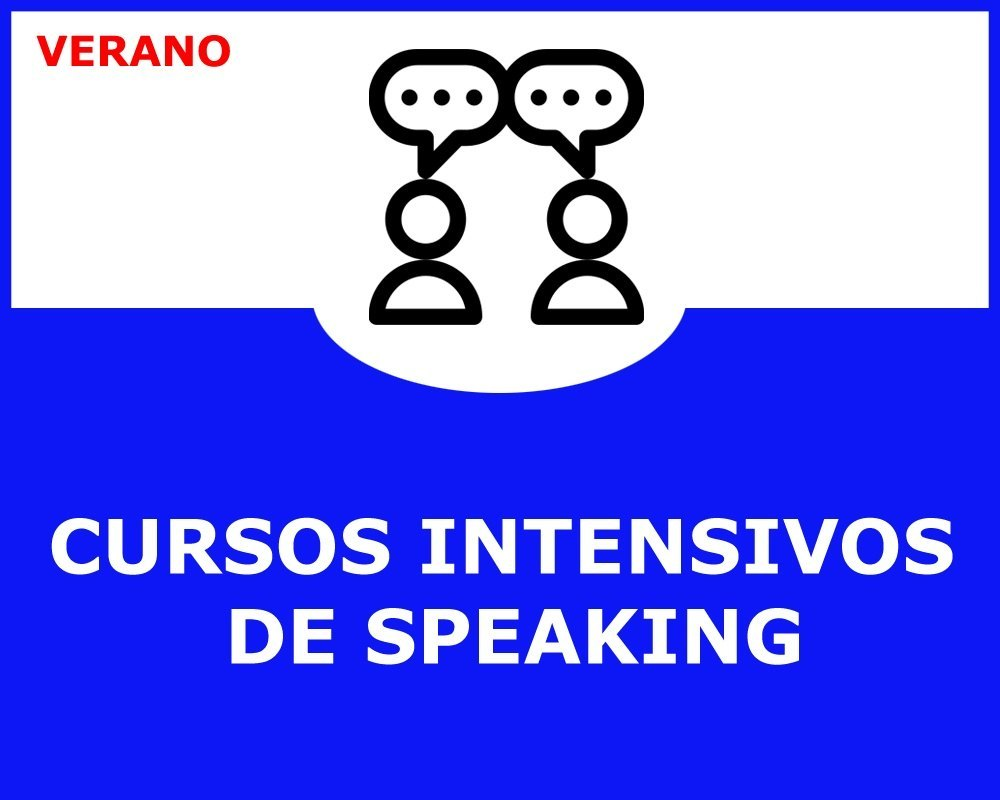 cursos intensivos de speaking